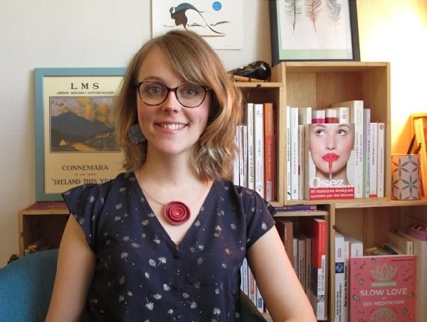 Sophie Greene, sexologue et praticienne en psychothérapie sur Orléans.
